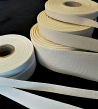 20mt Roll of Web Tapes & India Tape Craft Sewing Sew Fabric Twill Woven Ribbon